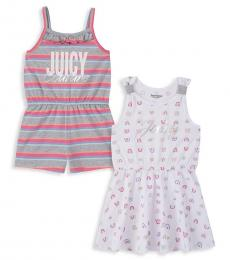 Juicy Couture 2 Piece Romper/Dress Set (Baby Girls)