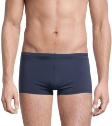 Emporio Armani Dark Blue Fitted Swim Trunk Briefs