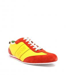 Hugo Boss Medium Yellow Light Ness Sneakers