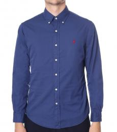 Ralph Lauren Navy Classic Fit Sport Shirt
