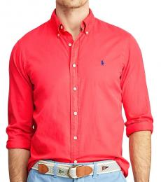 Nantucket Red Classic Fit Oxford Shirt