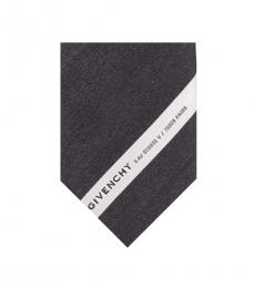 Givenchy White-Black Gradient Tie