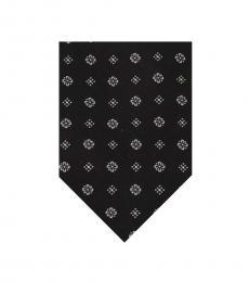 Dolce & Gabbana Black Pattern Tie