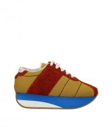 Orange Classic Sneakers