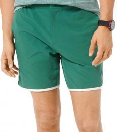 Michael Kors Amazon Green Stretch Sport Shorts