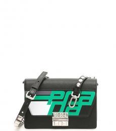 Prada Black Elektra Racing Small Crossbody