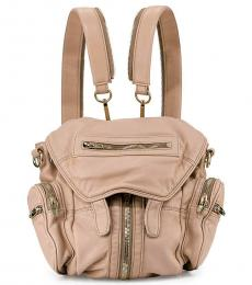 Alexander Wang Pink Leather Small Backpack