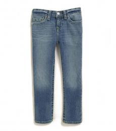 True Religion Little Boys Blue Single End Slim Fit Jeans
