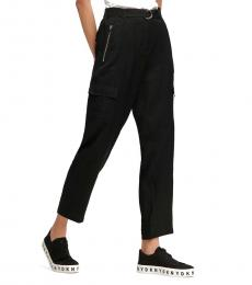 Black Belted Cargo Pant