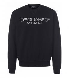 Dsquared2 Black Logo Print Sweatshirt