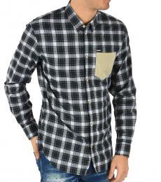 Dsquared2 Blue Check Tartan Shirt