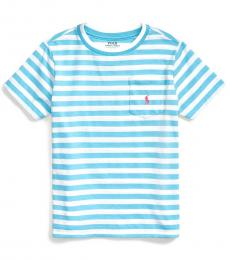 Ralph Lauren Little Boys Neptune Blue Striped T-Shirt