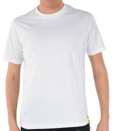 Diesel White Printed Just Trims T-Shirt