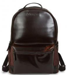 Robert Graham Brown Helio I Large Backpack