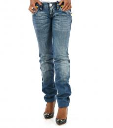 Denim  Low-Rise Twins Jeans