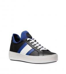 Sapphire Ace Striped Sneakers