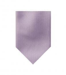 Michael Kors Lilac Solid Puppy Tooth Tie