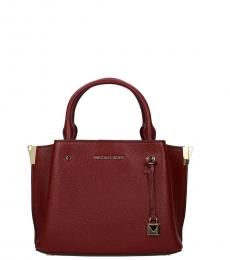 Red Arielle Small Satchel