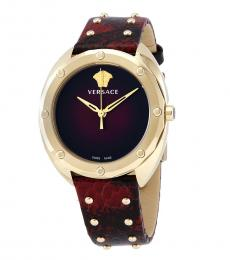 Versace Red Shadov Watch