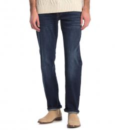 Lucky Brand Dark Blue Straight Jeans