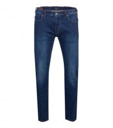 Armani Jeans Dark Blue Slim Fit Jeans