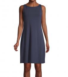 Tommy Bahama Dark Blue Stretch Mini Dress