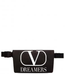 Valentino Garavani Black Dreamers Fanny Pack