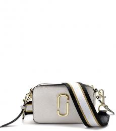 Marc Jacobs Silver Snapshot Small Crossbody
