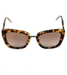 Marc Jacobs Brown Butterfly Sunglasses