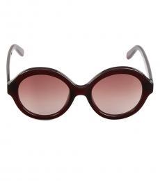 Red Round Sunglasses