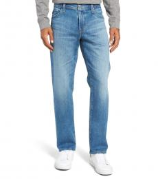 AG Adriano Goldschmied Blue Graduate Tailored Leg Jeans