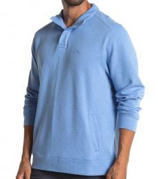 Tommy Bahama Blue Pina Port Half Zip Pullover