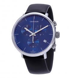 Calvin Klein Black High Noon Chronograph Watch