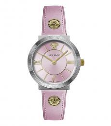 Versace Rosa Logo Modish Watch