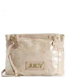 Juicy Couture Suede Wild Card Large Satchel