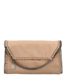 Stella McCartney Beige Falabella Medium Crossbody