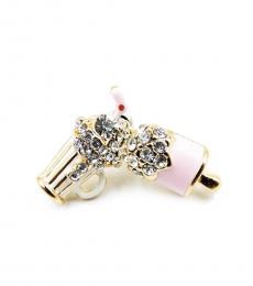 Light Pink Retro Soda Earrings