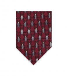 Bordeaux Modish Tie