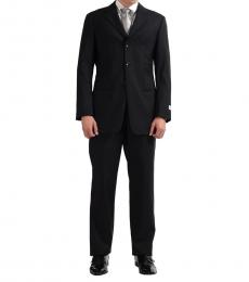 Armani Collezioni Multicolor Striped Three Button Suit