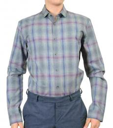 Grey Edmond Slim Line Casual Shirt