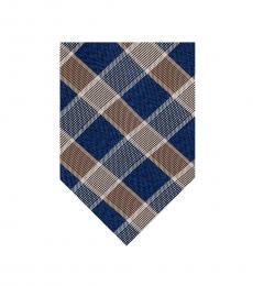 Michael Kors Taupe Geometric Pattern Tie