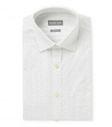 Pebble Print Regular Fit Dress Shirt