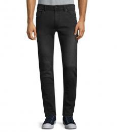 Black Thommer Distressed Skinny Jeans