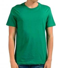 Versace Jeans Green Graphic Print T-Shirt