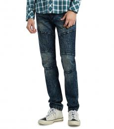 Going Viral Rocco Moto Big T Jeans