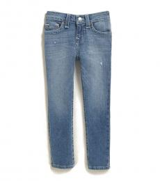 True Religion Little Boys Blue Rocco Relaxed Skinny Jeans