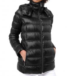 Michael Kors Black Quilted Packable Puffer Jacket