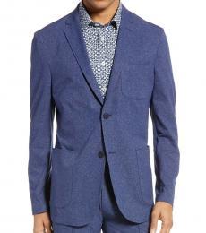 Vince Camuto Blue Slim Fit Suit Jacket