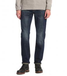Dark Blue Slim Fit Jeans