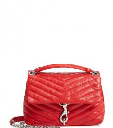 Rebecca Minkoff Tomato Edie Quilted Small Shoulder Bag